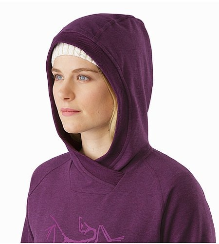 Archaeopteryx Pullover Hoody Women's Mandala Hood Side View