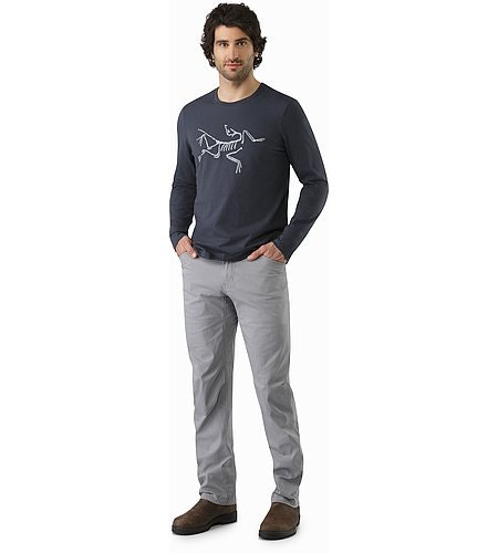 Archaeopteryx T-Shirt LS Nighthawk Front View