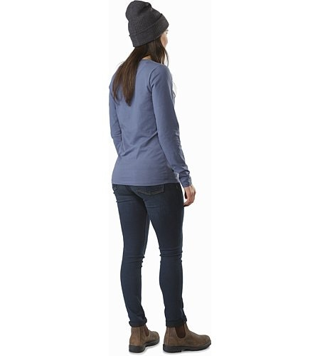 Archaeopteryx T-Shirt LS Women's Nightshadow Back View