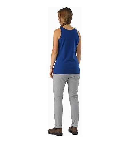 Archaeopteryx Tank Top Women's Mystic Back View