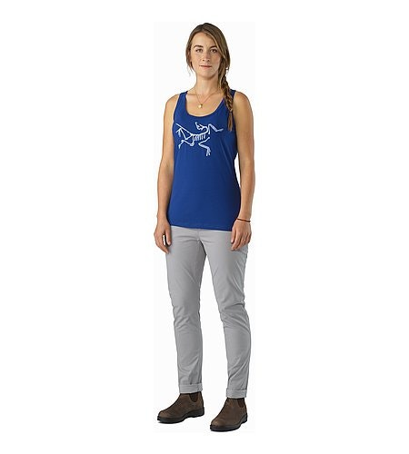 Archaeopteryx Tank Top Women's Mystic Front View