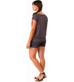 Ardena Top Women's Whiskey Jack Back View