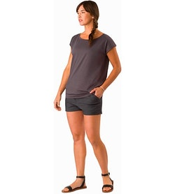 Ardena Top Women's Whiskey Jack Front View