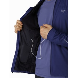Argus Jacket Algorhythm Security Pocket And Media Port