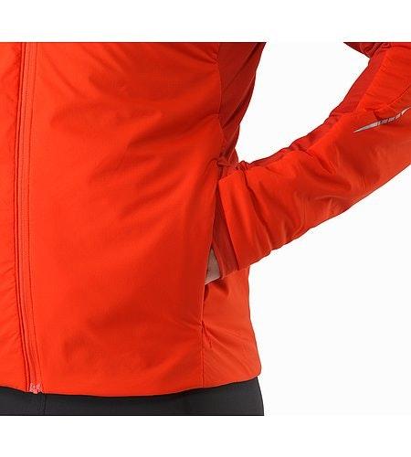 Argus Jacket Cardinal Hand Pocket