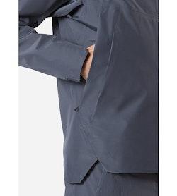 Arris Jacket Slate Hand Pocket