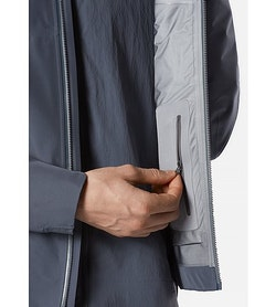 Arris Jacket Slate Internal Security Pocket