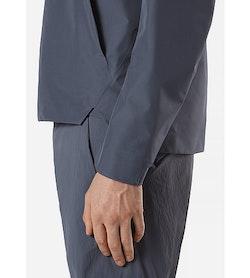 Arris Jacket Slate Side Cuff
