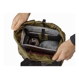 アロー 20 バケット バッグ ワイルドウッド メインコンパートメント2