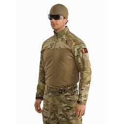 Assault Shirt SV MultiCam 3 4 Left