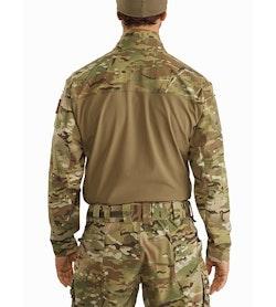 Assault Shirt SV MultiCam Back View
