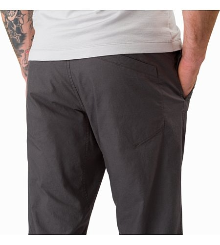 Atlin Chino Pant Pilot External Pocket Back