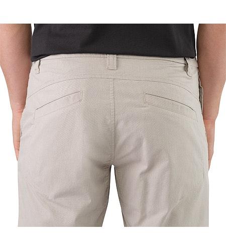 Atlin Chino Short Bone External Pocket Back