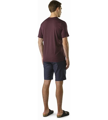Atlin Chino Short Nighthawk Back View