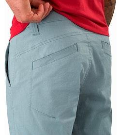 Atlin Chino Short Robotica External Pocket Back