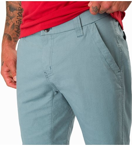 Atlin Chino Short Robotica External Pocket Front
