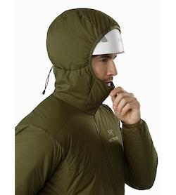 Atom AR Hoody Bushwhack Helmet Compatible Hood