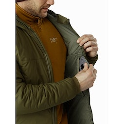 Atom AR Hoody Bushwhack Internal Security Pocket