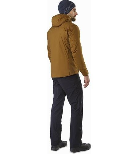 Atom LT连帽衣褐色背面