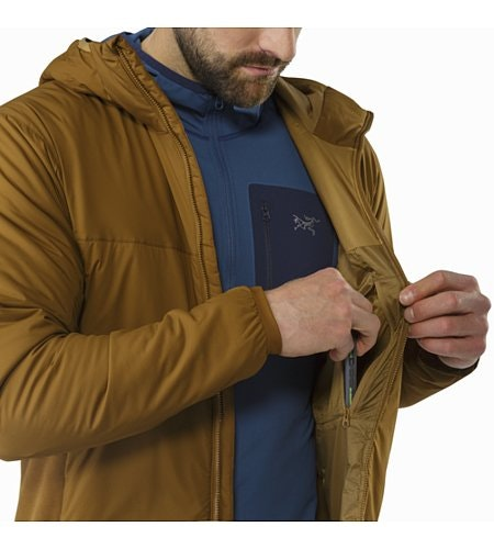 Atom LT Hoody Caribou Internal Security Pocket