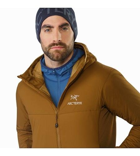 Atom LT Hoody Caribou Open Collar 2