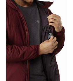 Atom LT Hoody Flux Internal Security Pocket