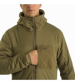Atom LT Hoody Gen 2 Crocodile Chest Pocket Access