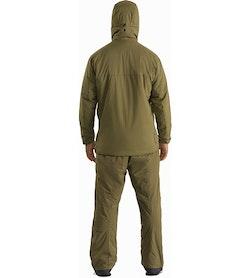 Atom LT Hoody Gen 2 Crocodile Outfit Back View