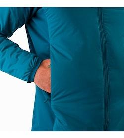 Chaqueta con capucha Atom LT Iliad: Bolsillo para las manos