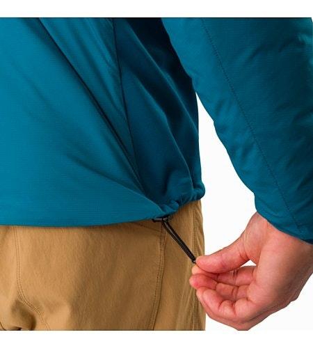 Veste à capuche Atom LT Iliad Cordon de serrage sur l'ourlet