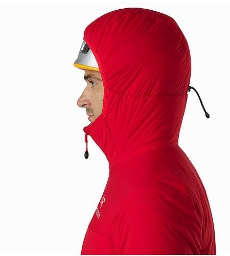 Atom LT Hoody Toreador Helmet Compatible Hood Side View