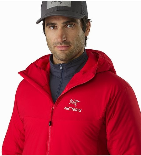 Atom LT Hoody Toreador Open Collar