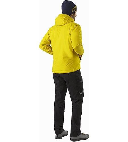 Veste à capuche Atom LT Woad Vue de dos
