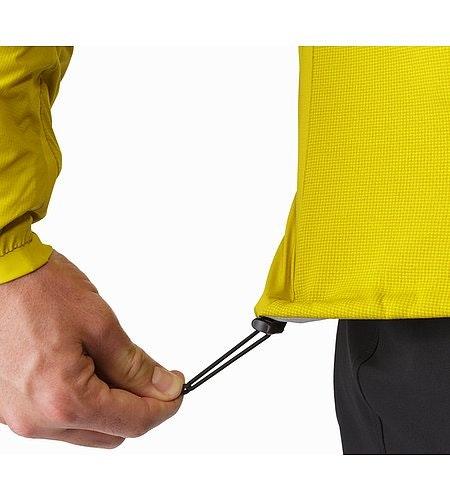 Veste à capuche Atom LT Woad Cordon de serrage sur l'ourlet