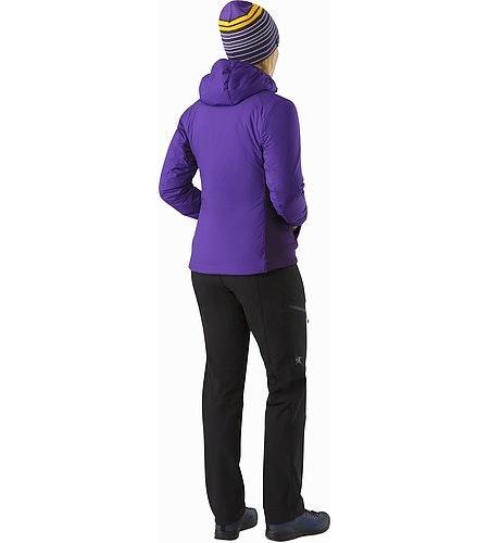 Veste à capuche Atom LT Femme Azalea Vue de dos