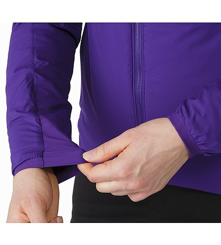 Atom LT Hoody Women's Azalea Stretch Cuffs