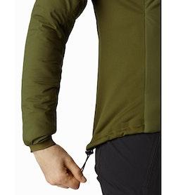 Chaqueta con capucha Atom LT para mujer Bushwhack: Regulador del dobladillo