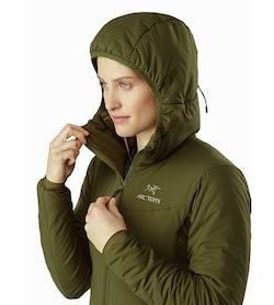 Chaqueta con capucha Atom LT para mujer Bushwhack: Capucha
