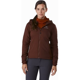 Atom LT Hoody Women's Flux Front View