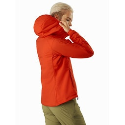 Atom LT Hoody Women's Hyperspace Back View