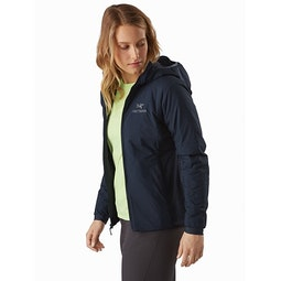 Atom LT Hoody Women's Kingfisher Open View