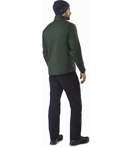 Atom LT Jacket Conifer Back View