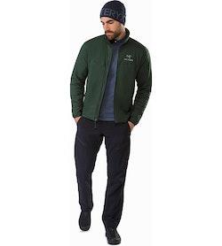 Atom LT Jacket Conifer Front View