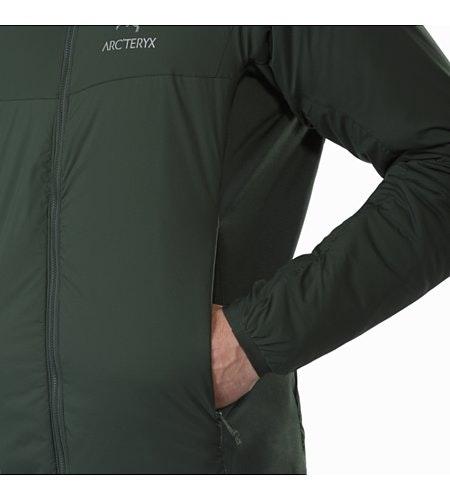 Atom LT Jacket Conifer Hand Pocket