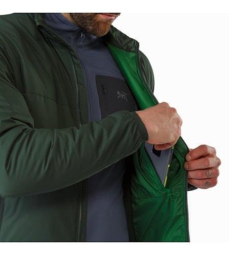 Atom LT Jacket Conifer Internal Security Pocket