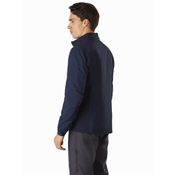 Atom LT Jacket Kingfisher Back View