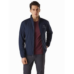 Atom LT Jacket Kingfisher Open View