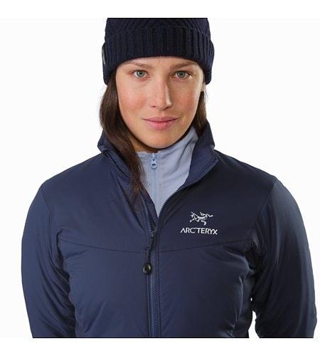 Atom LT Jacket Women's Black Sapphire Collar