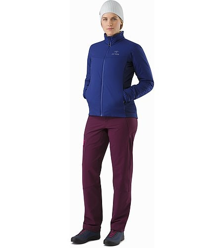 Atom LT Jacket Women's Mystic Front View
