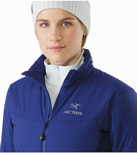 Atom LT Jacket Women's Mystic Open Collar